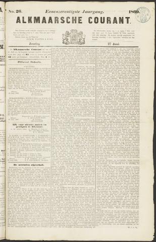 Alkmaarsche Courant 1869-06-27
