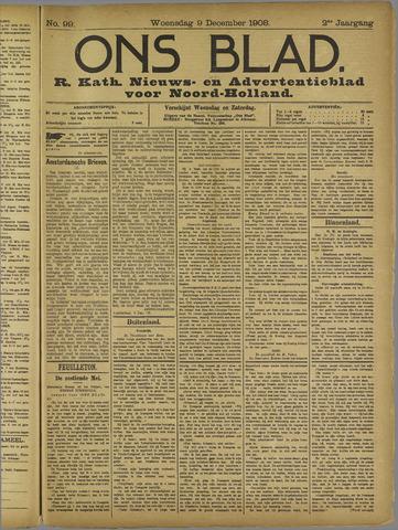 Ons Blad : katholiek nieuwsblad voor N-H 1908-12-09
