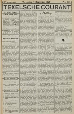 Texelsche Courant 1938-12-07