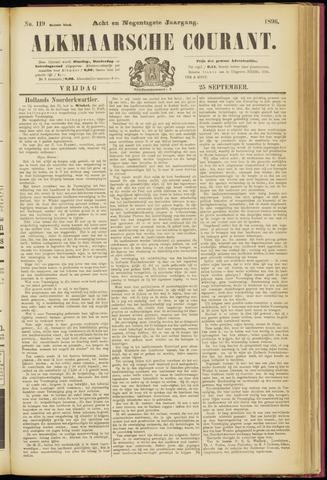 Alkmaarsche Courant 1896-09-25