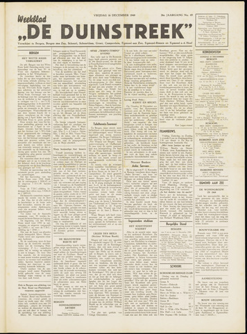 De Duinstreek 1949-12-16