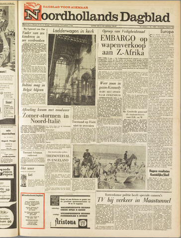 Noordhollands Dagblad : dagblad voor Alkmaar en omgeving 1963-08-08