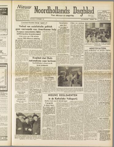 Nieuw Noordhollandsch Dagblad : voor Alkmaar en omgeving 1947-11-10