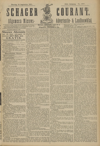 Schager Courant 1911-09-19