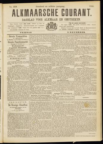 Alkmaarsche Courant 1906-11-02