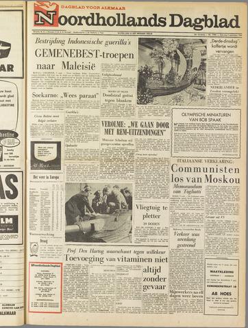 Noordhollands Dagblad : dagblad voor Alkmaar en omgeving 1964-09-05