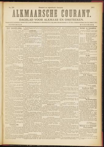 Alkmaarsche Courant 1917-12-20
