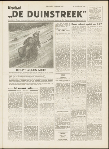 De Duinstreek 1953-02-06