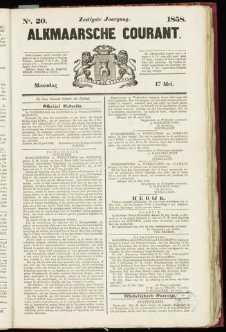 Alkmaarsche Courant 1858-05-17