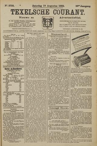 Texelsche Courant 1923-08-18
