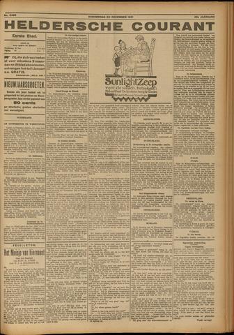 Heldersche Courant 1921-12-22