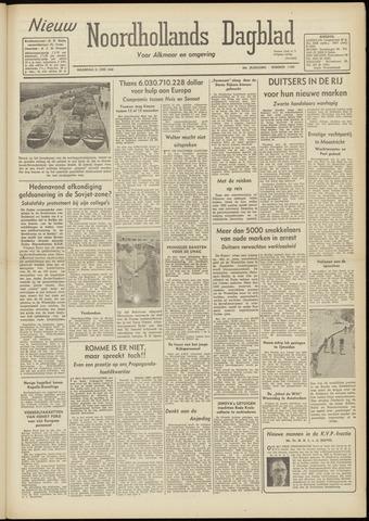 Nieuw Noordhollandsch Dagblad : voor Alkmaar en omgeving 1948-06-21