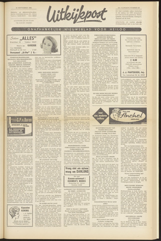 Uitkijkpost : nieuwsblad voor Heiloo e.o. 1964-09-24