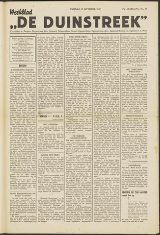 De Duinstreek 1947-10-17