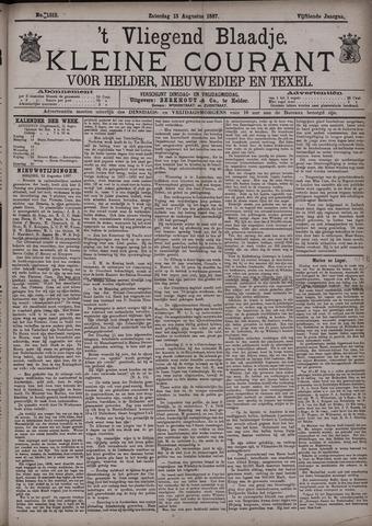 Vliegend blaadje : nieuws- en advertentiebode voor Den Helder 1887-08-13