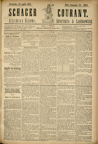 Schager Courant 1895-04-25