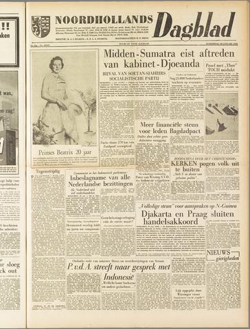 Noordhollands Dagblad : dagblad voor Alkmaar en omgeving 1958-01-30