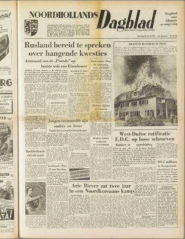 Noordhollands Dagblad : dagblad voor Alkmaar en omgeving 1953-04-25