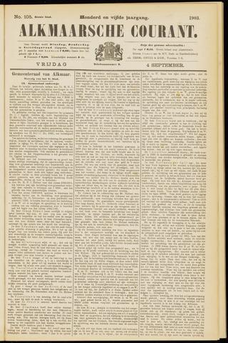 Alkmaarsche Courant 1903-09-04