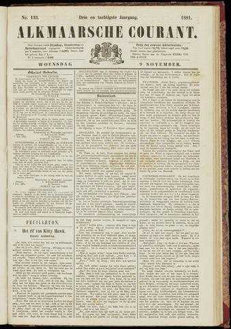 Alkmaarsche Courant 1881-11-09