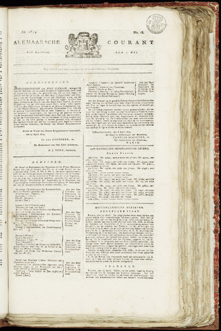 Alkmaarsche Courant 1819-05-03