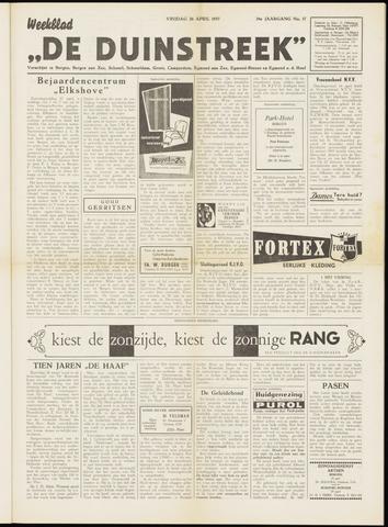De Duinstreek 1957-04-26