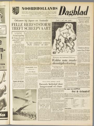 Noordhollands Dagblad : dagblad voor Alkmaar en omgeving 1959-11-14