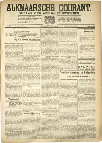 Alkmaarsche Courant 1933-10-30