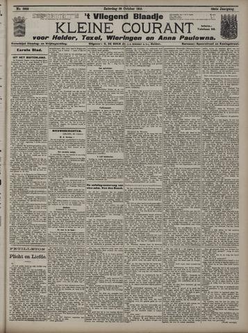 Vliegend blaadje : nieuws- en advertentiebode voor Den Helder 1910-10-29