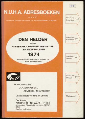 Adresboek van Den Helder 1974-01-01