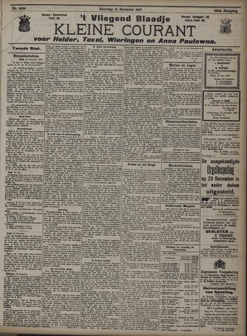 Vliegend blaadje : nieuws- en advertentiebode voor Den Helder 1907-12-21