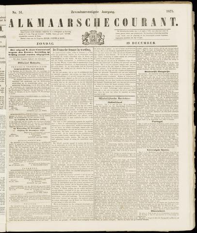 Alkmaarsche Courant 1875-12-19