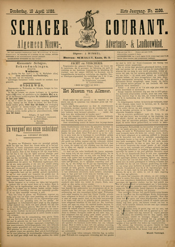 Schager Courant 1888-04-19