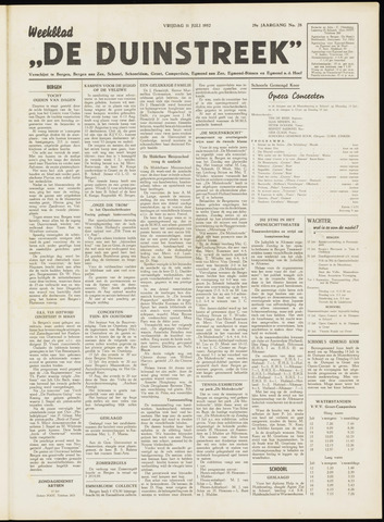 De Duinstreek 1952-07-11