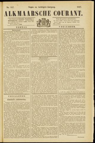 Alkmaarsche Courant 1887-12-09