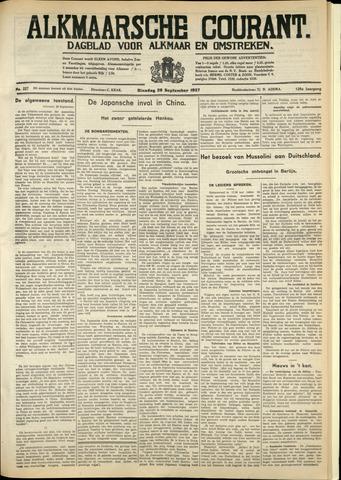 Alkmaarsche Courant 1937-09-28