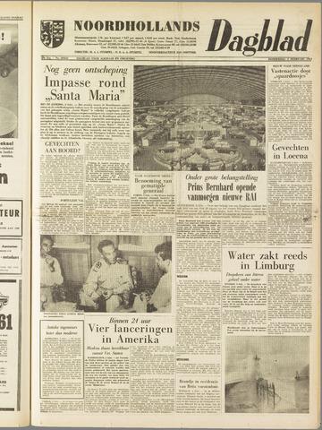 Noordhollands Dagblad : dagblad voor Alkmaar en omgeving 1961-02-02