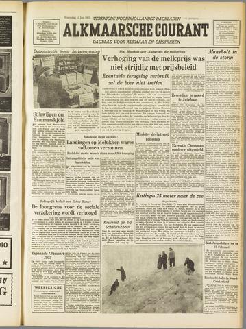 Alkmaarsche Courant 1955-01-12