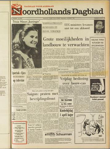 Noordhollands Dagblad : dagblad voor Alkmaar en omgeving 1969-03-26