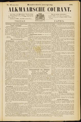 Alkmaarsche Courant 1898-04-08