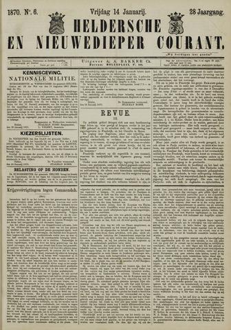 Heldersche en Nieuwedieper Courant 1870-01-14