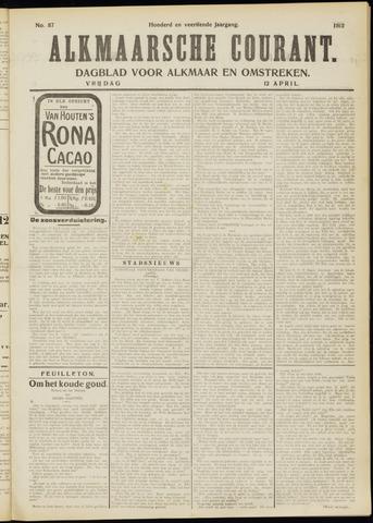 Alkmaarsche Courant 1912-04-12