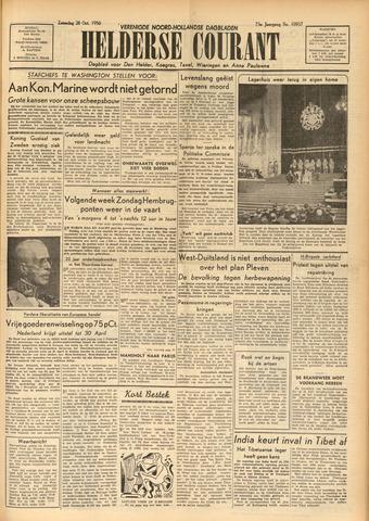 Heldersche Courant 1950-10-28