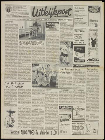 Uitkijkpost : nieuwsblad voor Heiloo e.o. 1989-09-13