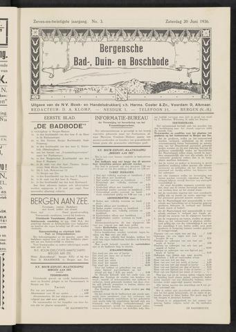 Bergensche bad-, duin- en boschbode 1936-06-20