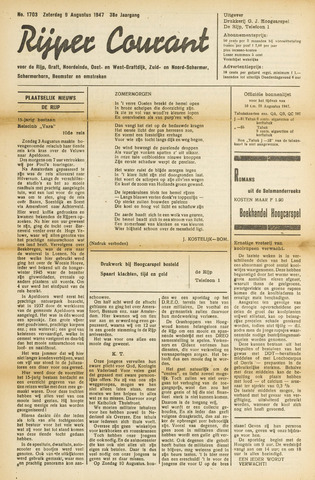 Rijper Courant 1947-08-09