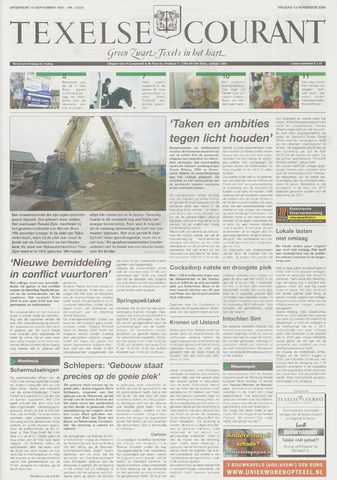 Texelsche Courant 2009-11-13