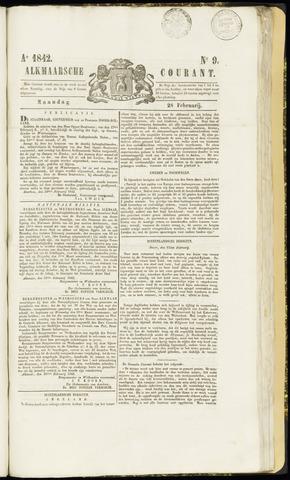 Alkmaarsche Courant 1842-02-28