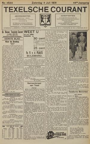 Texelsche Courant 1931-07-04