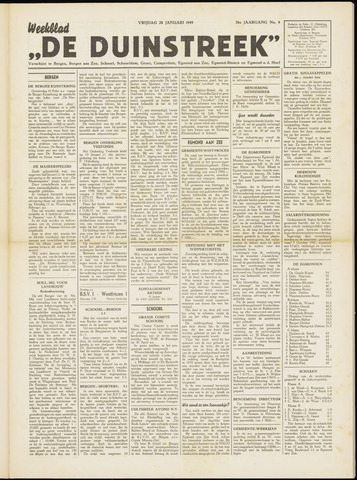 De Duinstreek 1949-01-28